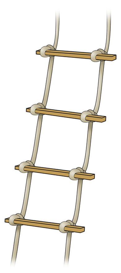How To Make A Rope Ladder Build Rope Ladders Hen And