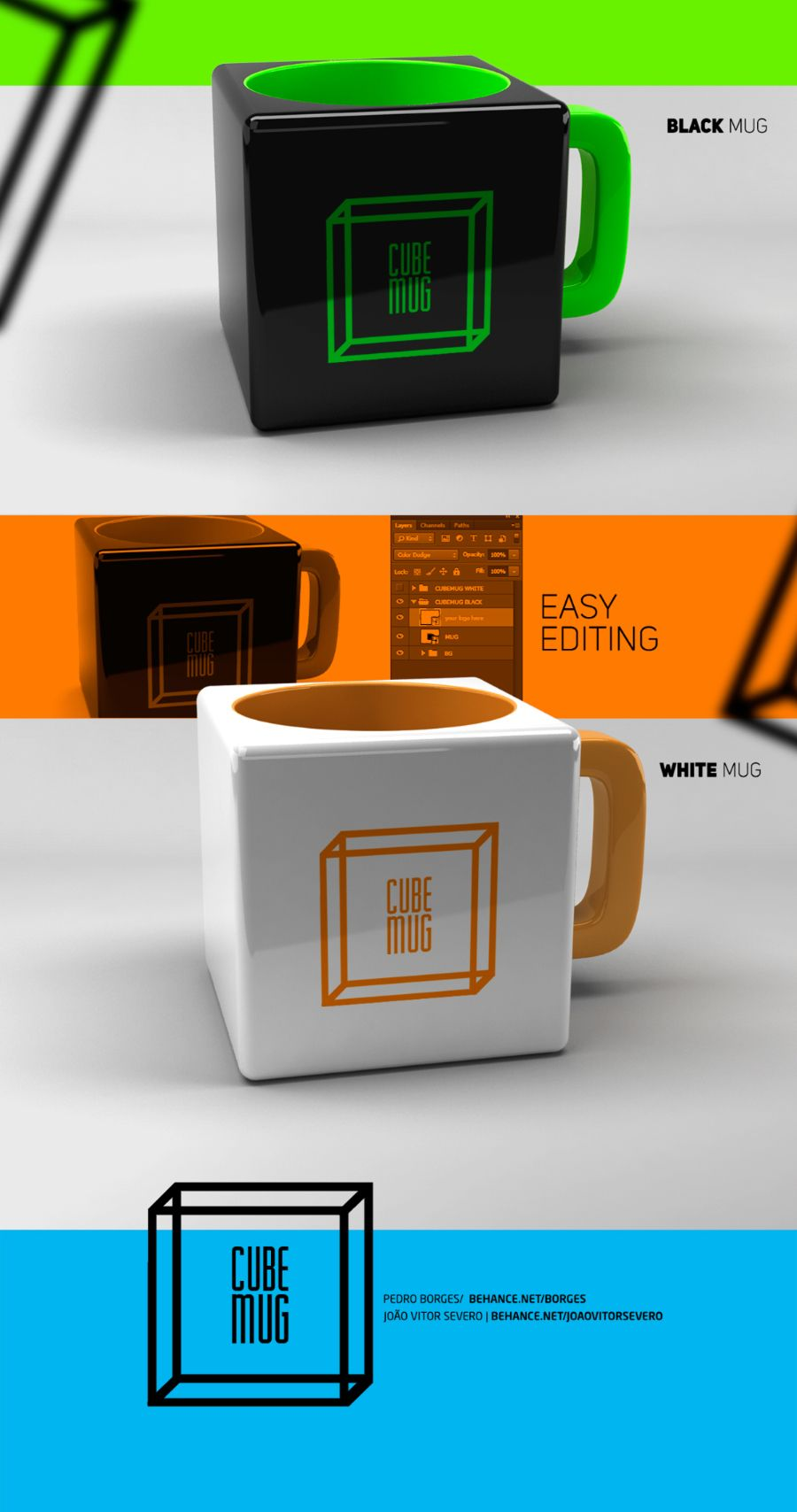 c1a57ffbd0d Free Cube Mug Mockup PSD (14.15 MB)