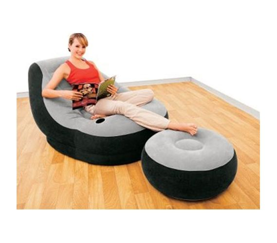 Magnificent Ultimate Dorm Lounger Foot Rest College Dorm Room Creativecarmelina Interior Chair Design Creativecarmelinacom