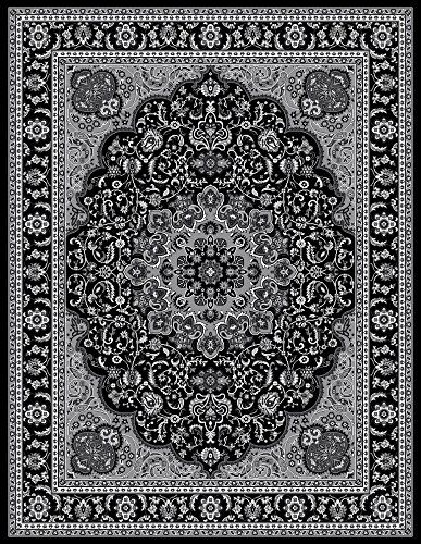 Amazon Com 1000 Gray Black White 7 10x10 2 Area Rug Modern Carpet Large New Modern Carpet Grey Area Rug Modern Area Rugs