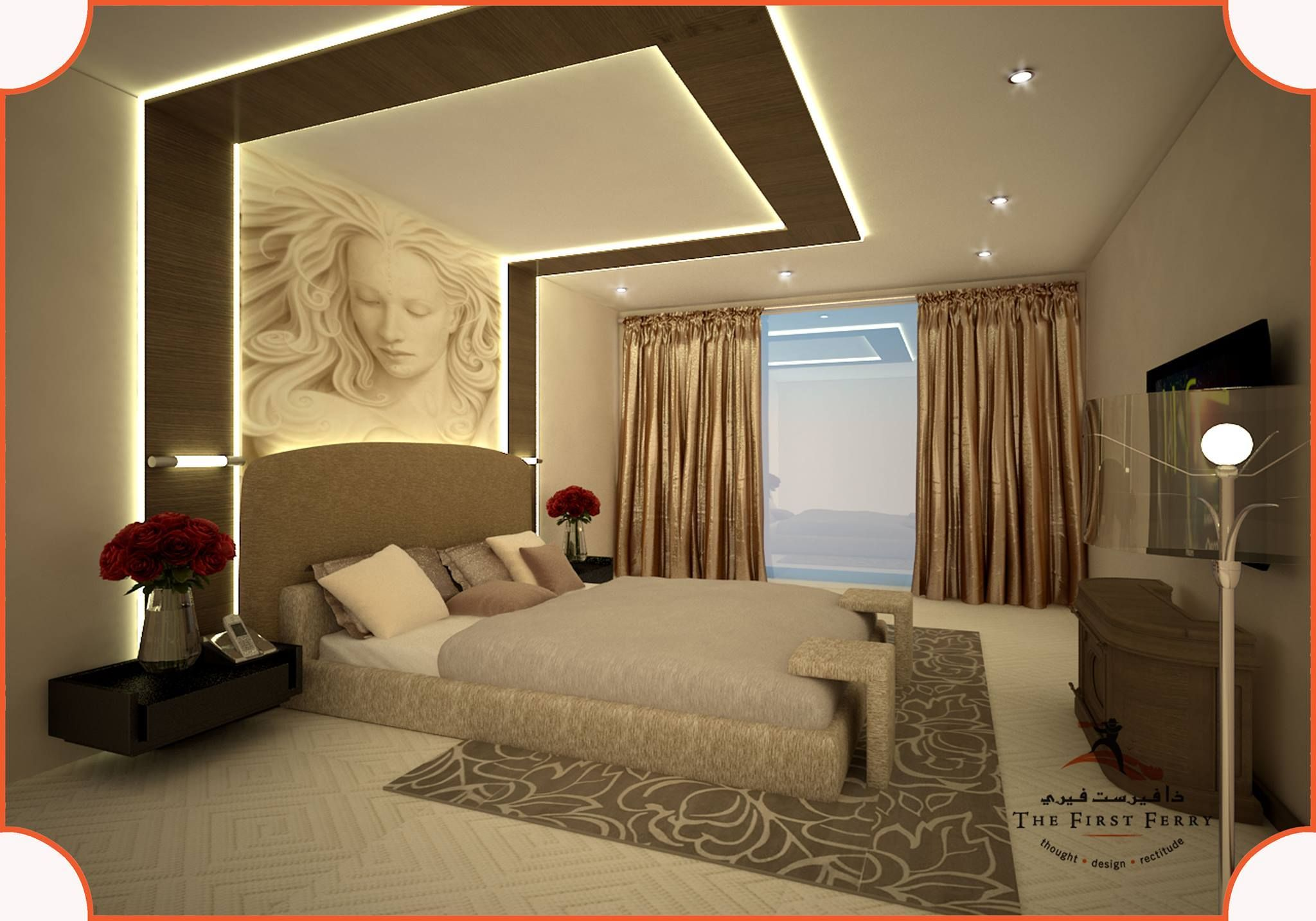Master Bedroom 1 | Bedroom false ceiling design, Bedroom ...