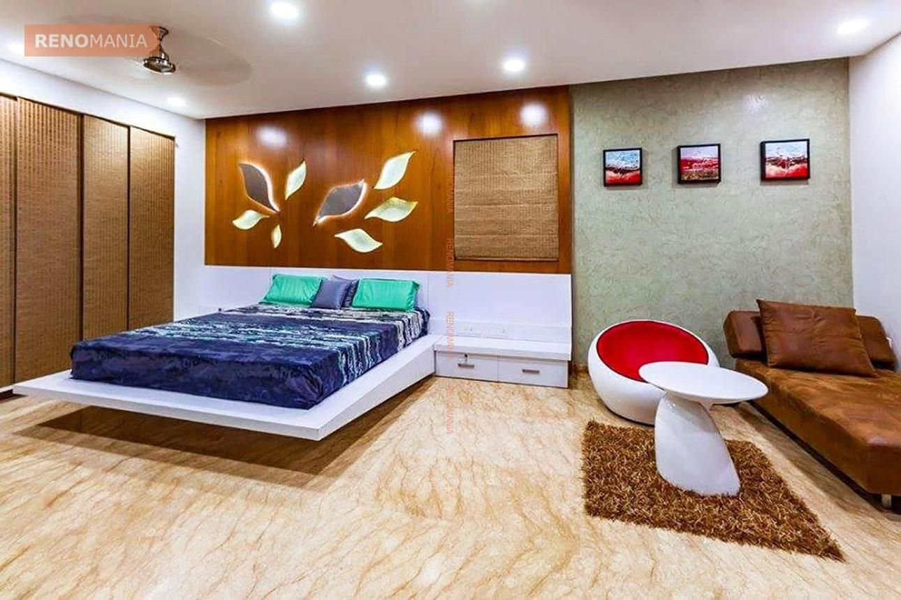 3 00 000 Indian Home Design Ideas And Images By Renomania Master Bedroom Design Indian Home Design Modern Bedroom Interior