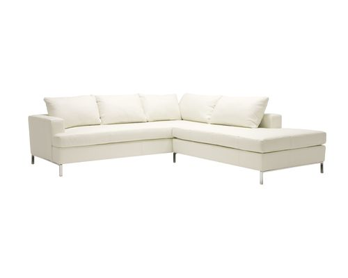 Lola Sectional Sofa, Modern, Comfortable And Made In Canada.