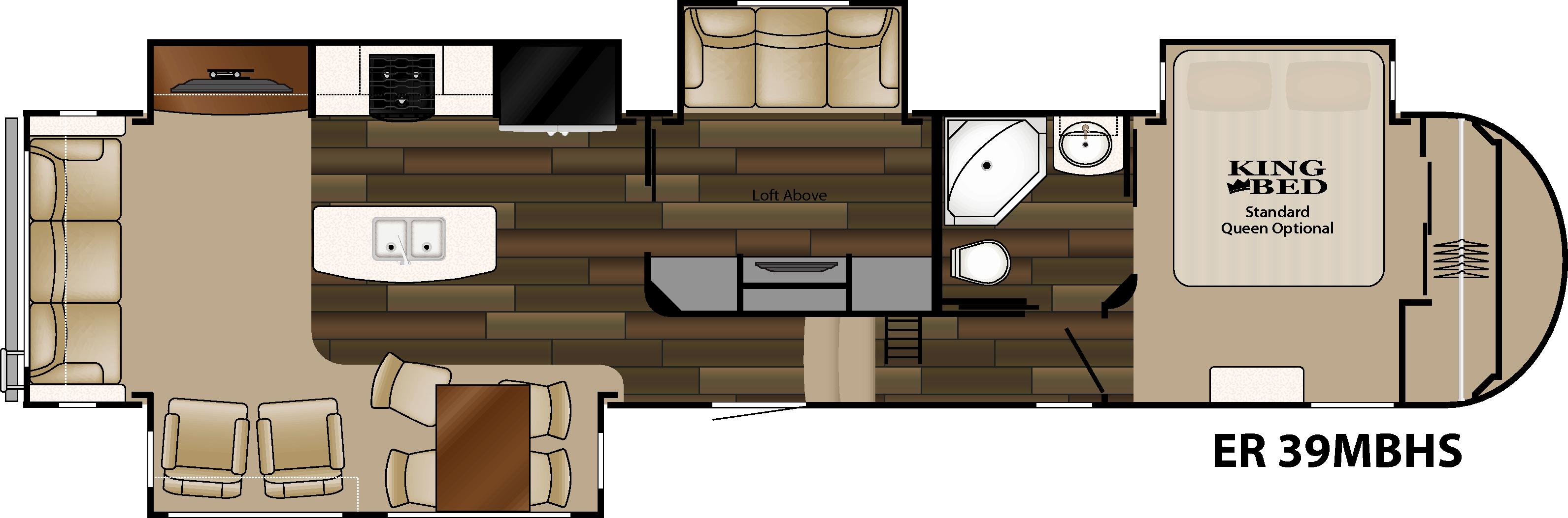 heartland elkridge 2015 er 39 mbhs has second tv room with loft