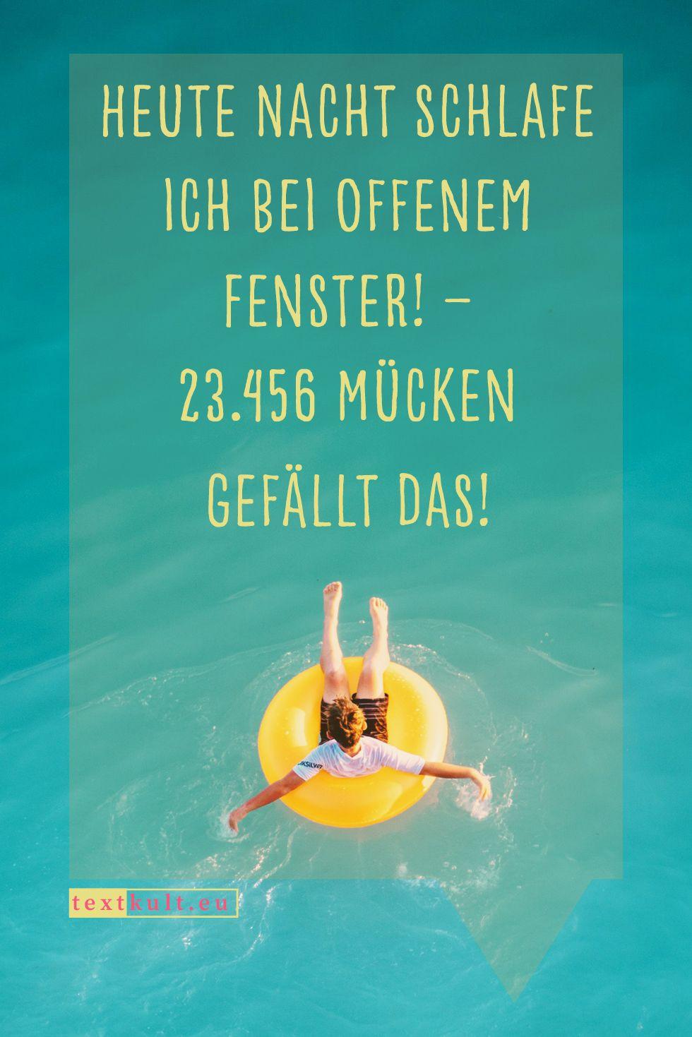 23 lustige Sommer Sprüche über die Hitze | Sommer sprüche ...