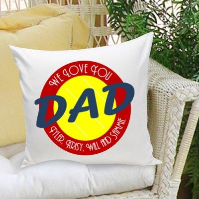 DETAILS: Comfortable Throw Pillow Personalized With Kidu0027s Names, Family  Saying Or Any Other Creative