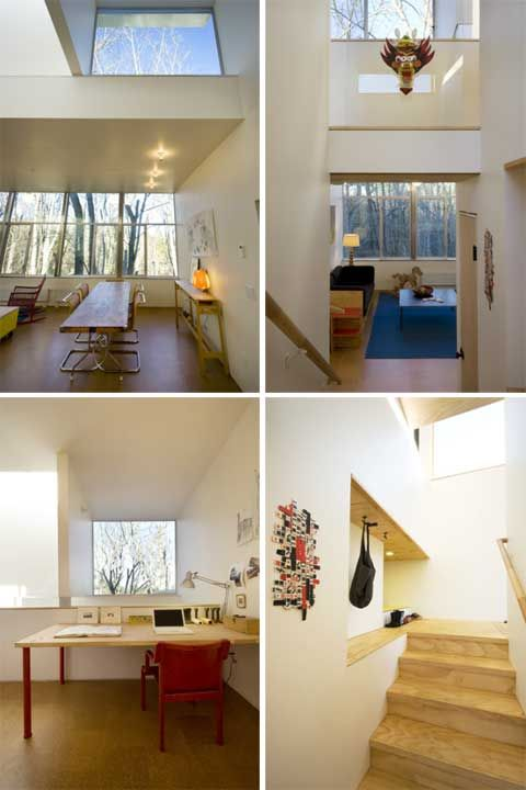 october 13 2011 architecture modern architecture treehouse on a sloped ...  #Treehouse Pinned by www.modlar.com