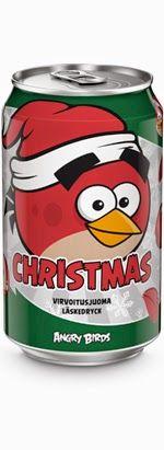 Karkkien, limpparien ja kaikenlaisten mässyjen arvostelublogi: Juoma-arvostelu: Olvi Angry Birds Red Christmas