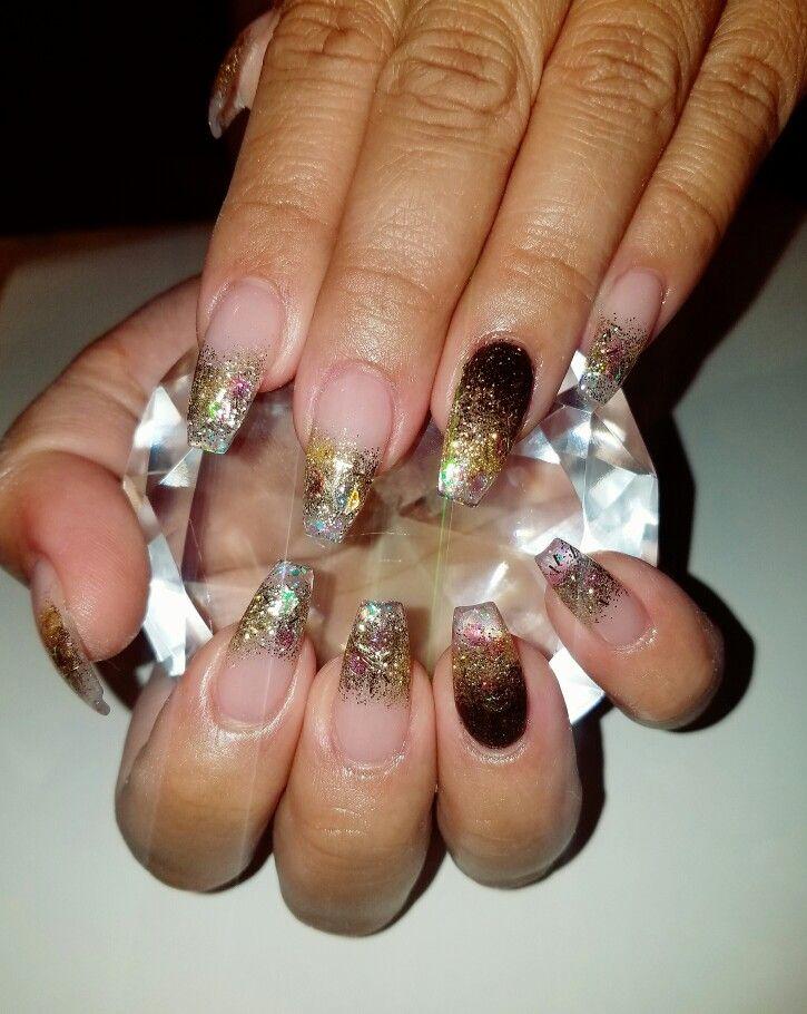 Fall nails | Flirtatious Nails | Pinterest