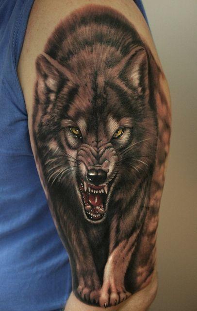 Www Kingstreet41 De Wolf Tattoos Von Tattoo Bewertung De