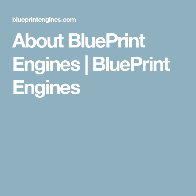 About blueprint engines blueprint engines ls1 pinterest about blueprint engines blueprint engines malvernweather Gallery