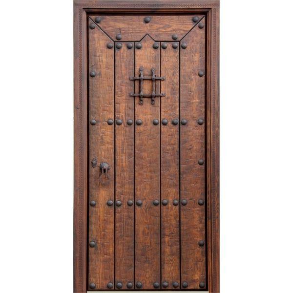 Resultado de imagen para modelos de puertas en madera y for Puerta madera rustica
