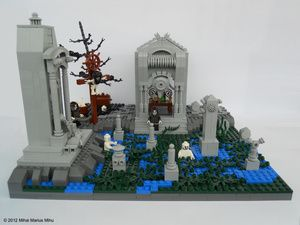 The Nine Circles Of Hell, As Depicted In LEGO - Anger
