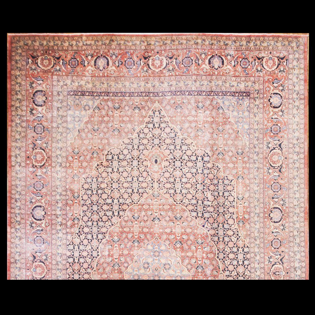 Tabriz Rug - 40-1428 | Persian Formal 11' 9'' x 18' 9'' | Multi, Origin Persia, Circa: 1920  #antique #rug #nyc #RADR #tabriz #carpet