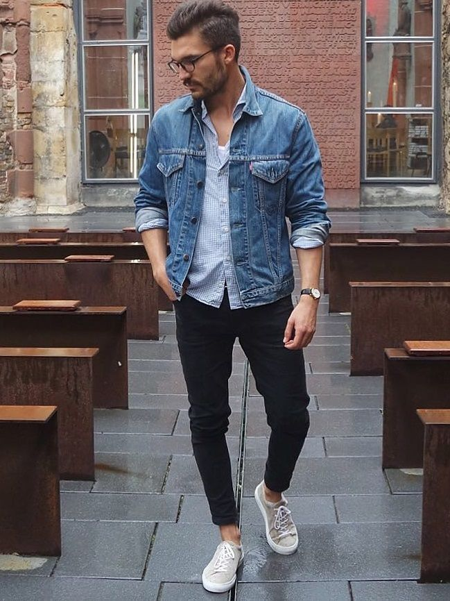 c1e2e15351f Men Street Style. Men Street Style Black Jeans ...