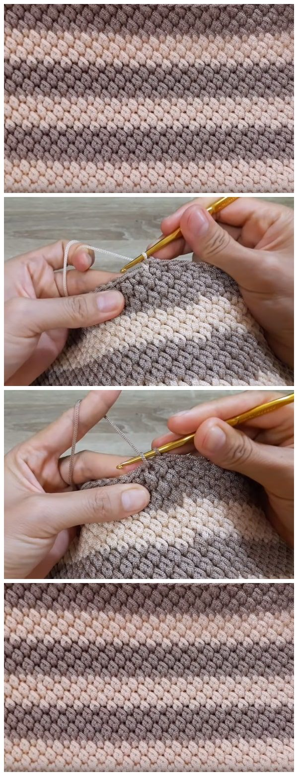 Crochet PP Rope Basket - Learn to Crochet #crochetstitchespatterns