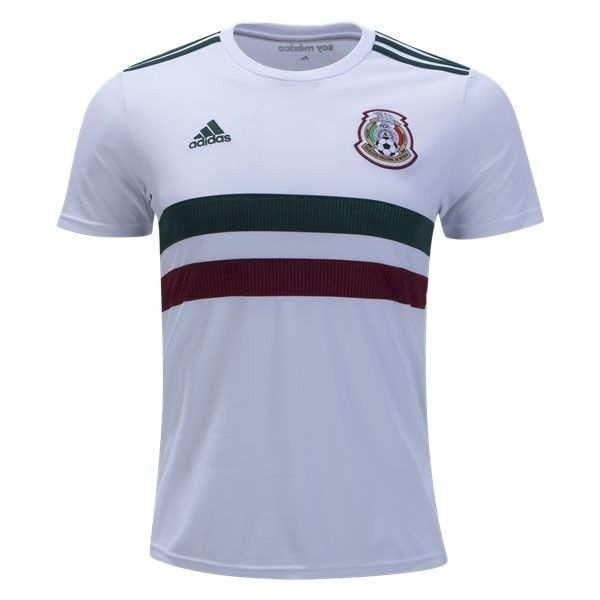 f6235235d 2018 World Cup Mexico Away Soccer Jersey (White) 2018 2019 Mexico Away Soccer  Jersey