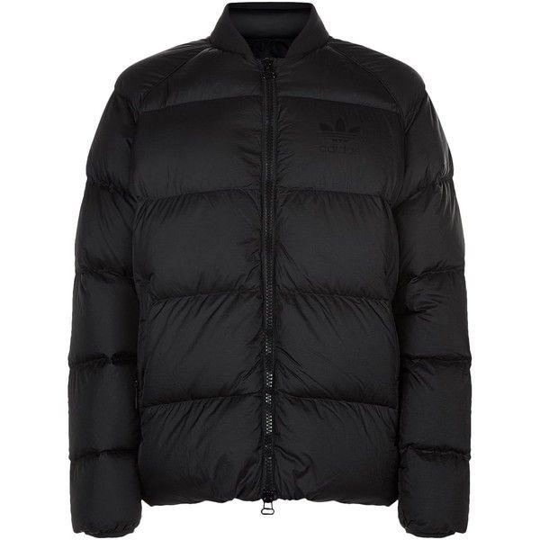 Adidas Originals Black Dlx Sst Materia Jacket for men