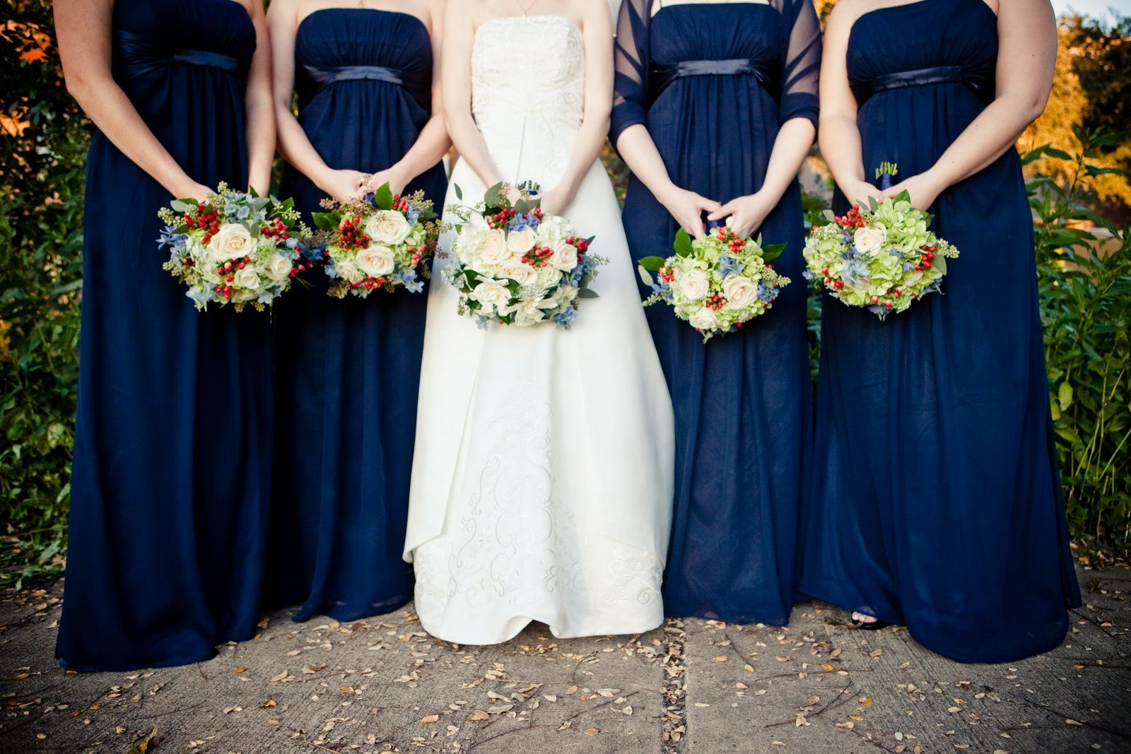 Navy Blue Is Fixed To A Big Wedding Trend In 2014 In Terms Of