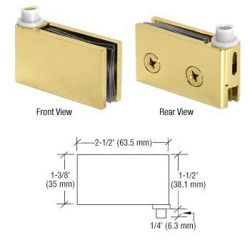 Crl Brass Flush Mount Cabinet Pivot Hinges By Cr Laurence By Cr Laurence 70 00 For 1 4 To 5 16 6 To 8 Mm Thick Glass Soli Hinges Flush Mount Door Design