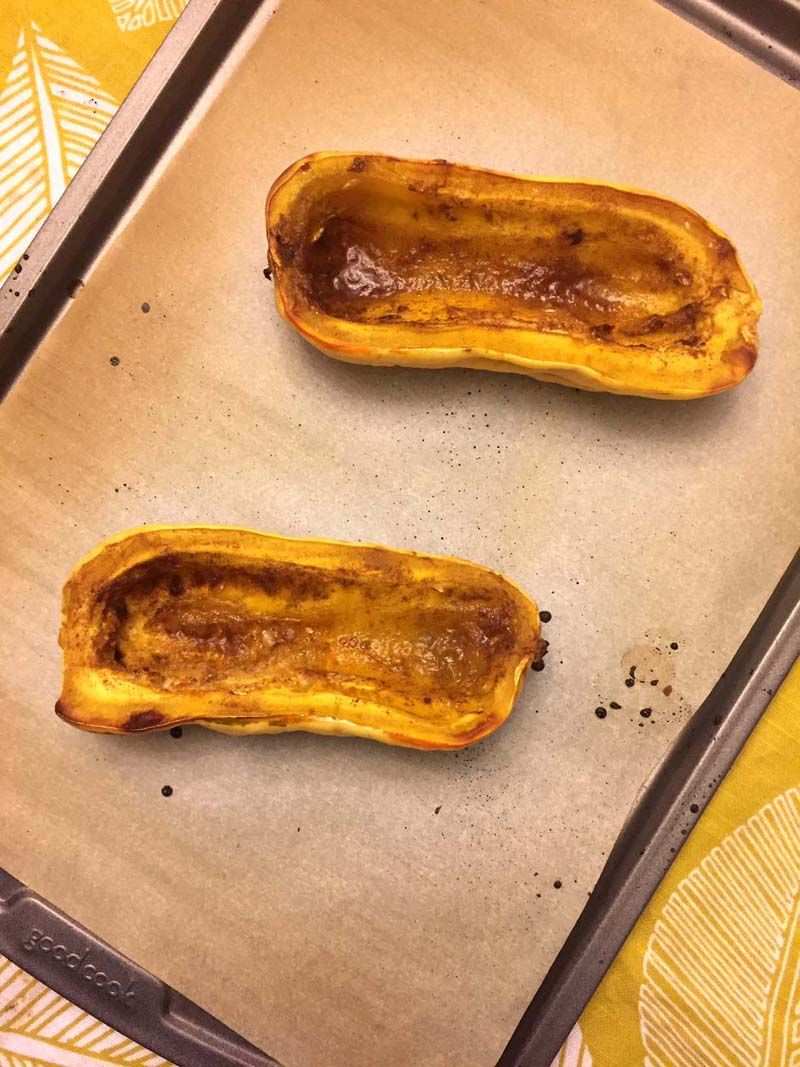 Roasted Delicata Squash Recipe Delicata Squash Roasted