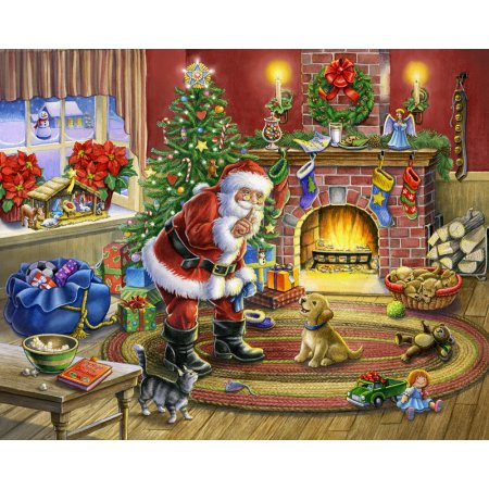 Vermont Christmas Company No Barking - 1000 Piece Jigsaw Puzzle