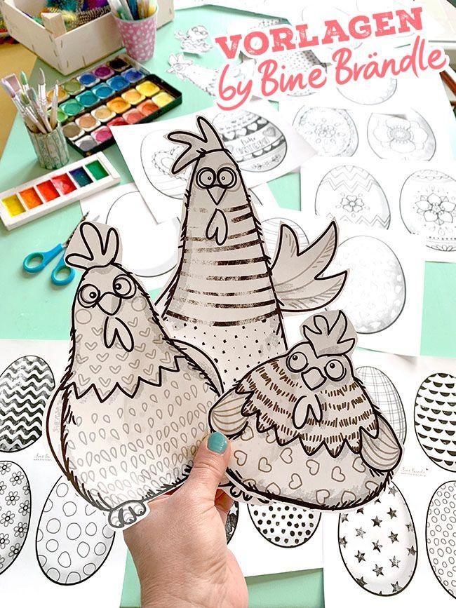 Photo of Die verrückten Hühner – Bines Shop