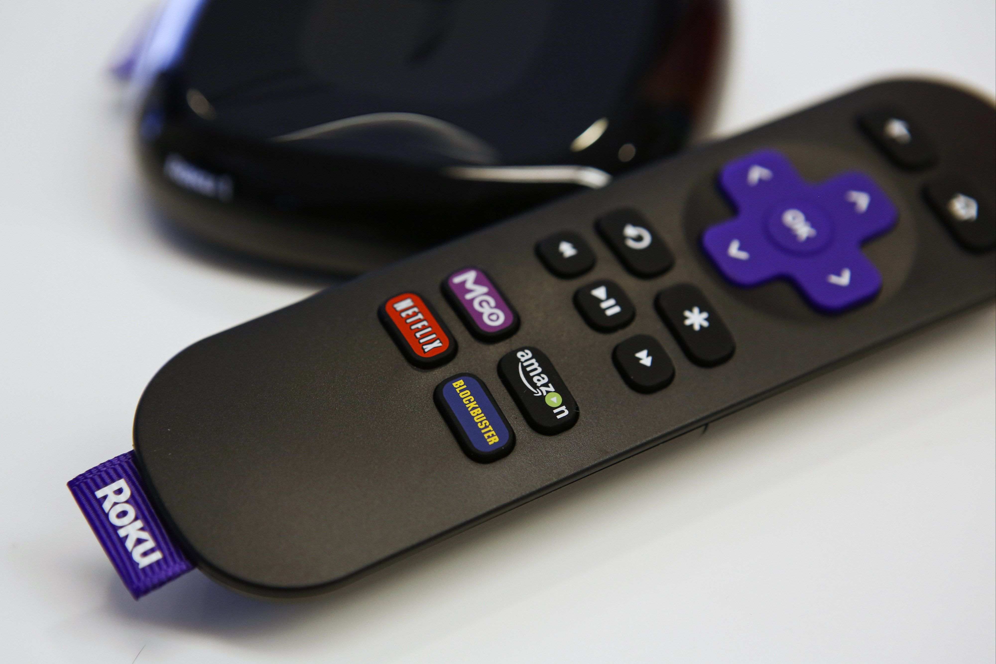 Most of the tasks on roku streaming player are done