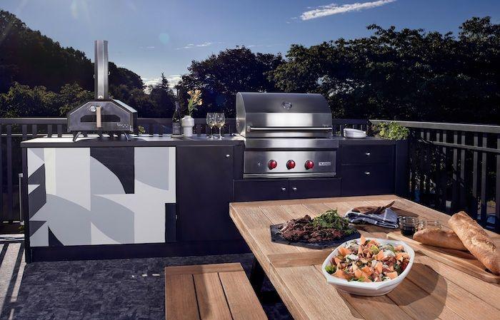 Außenküche Mit Backofen : ▷ 1001 ideen und bilder zum thema außenküche selber bauen