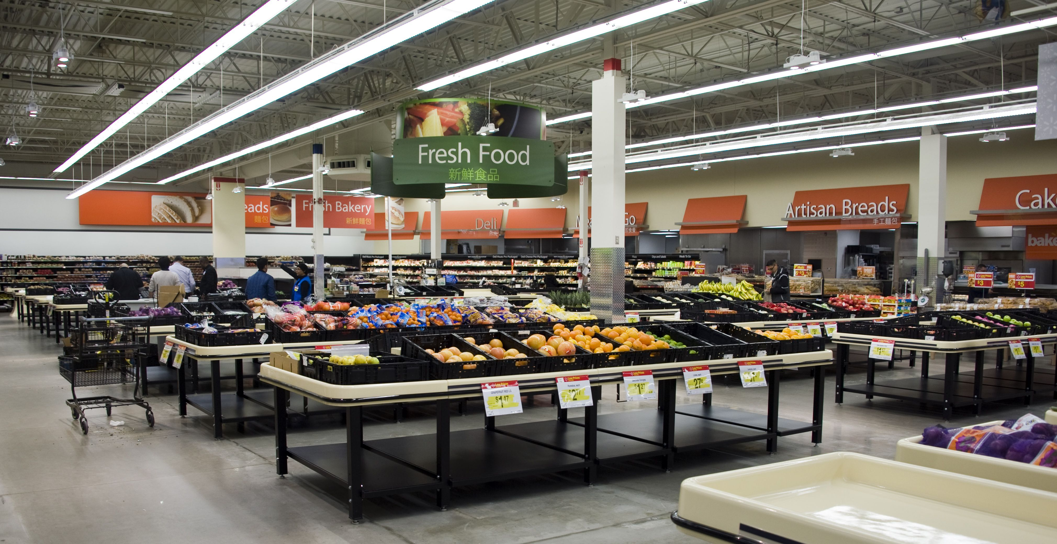 New install at Walmart. Contact LemonTree Products for all