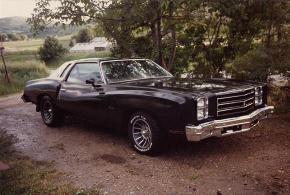 1976 Monte Carlo Black Chevrolet Monte Carlo Monte Carlo Car