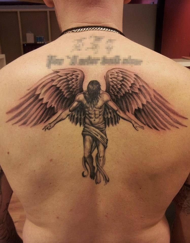 Angel Tattoo Angel Tattoo Tattoos Sleeve Tattoos