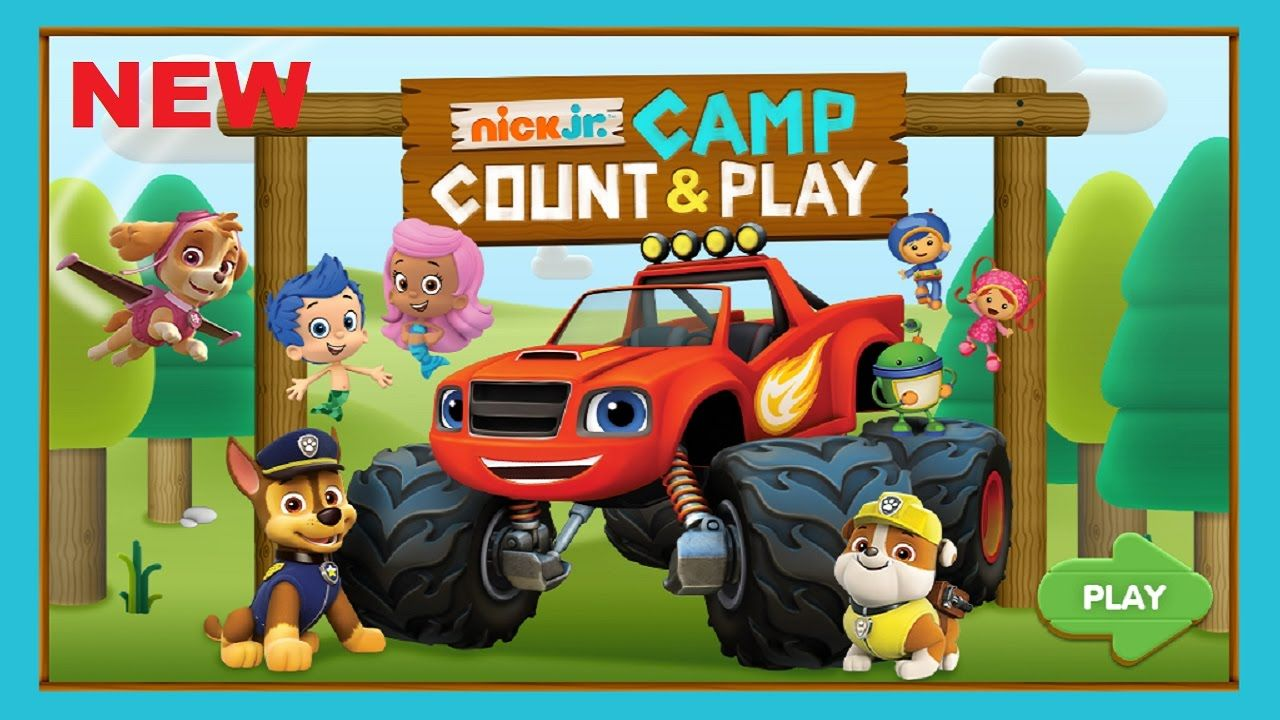 New Nick Jr. Camp Count & Play Preschool Learning Game