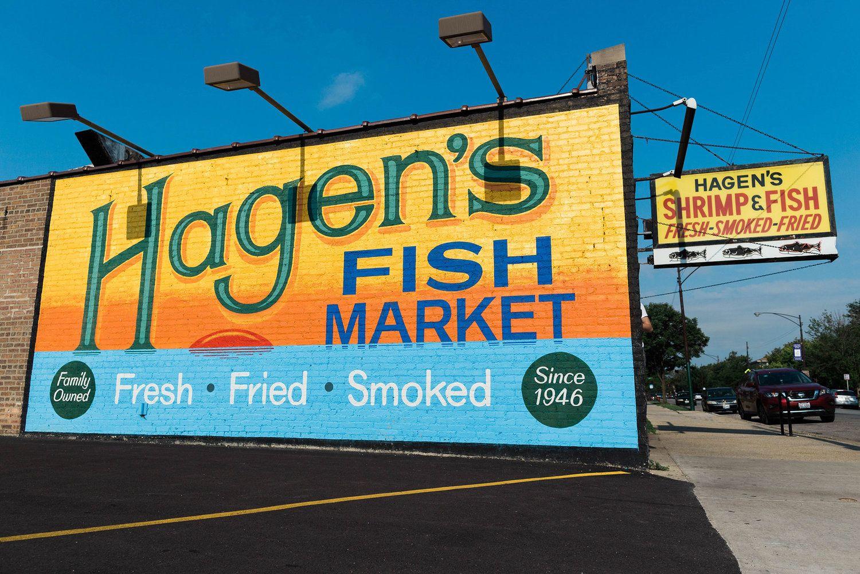 Hagen S Fish Market Chicago Illinois Marketing