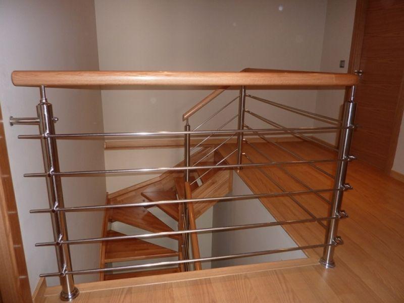 Resultado de imagen de barandillas para escaleras en acero