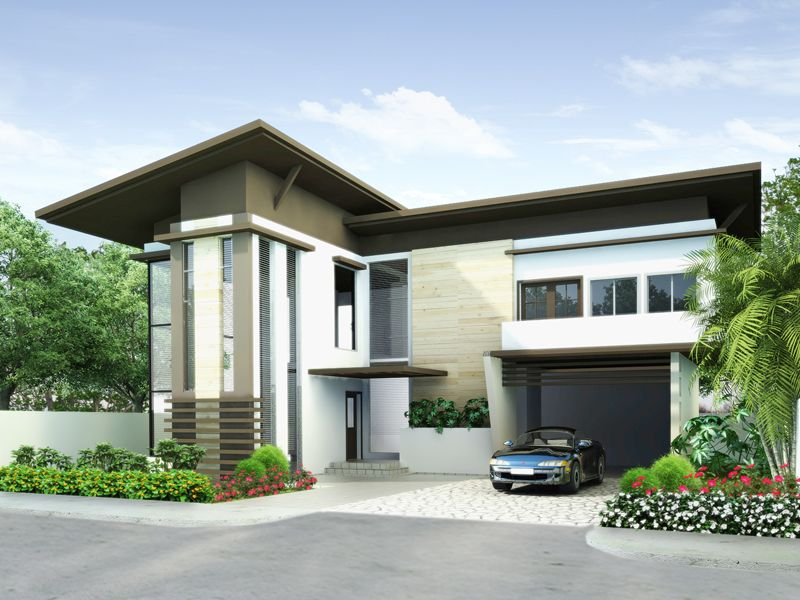 Modern House Plans Series Php 2014009 Modern House Philippines House Roof Design House Exterior