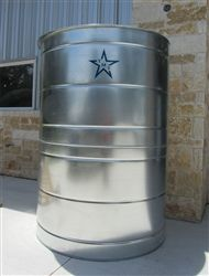 Galvanized Metal Rain Collection Tank With Protective Coating 1000 Gallon With Images Rain Water Collection Rain Harvesting Rain Collection