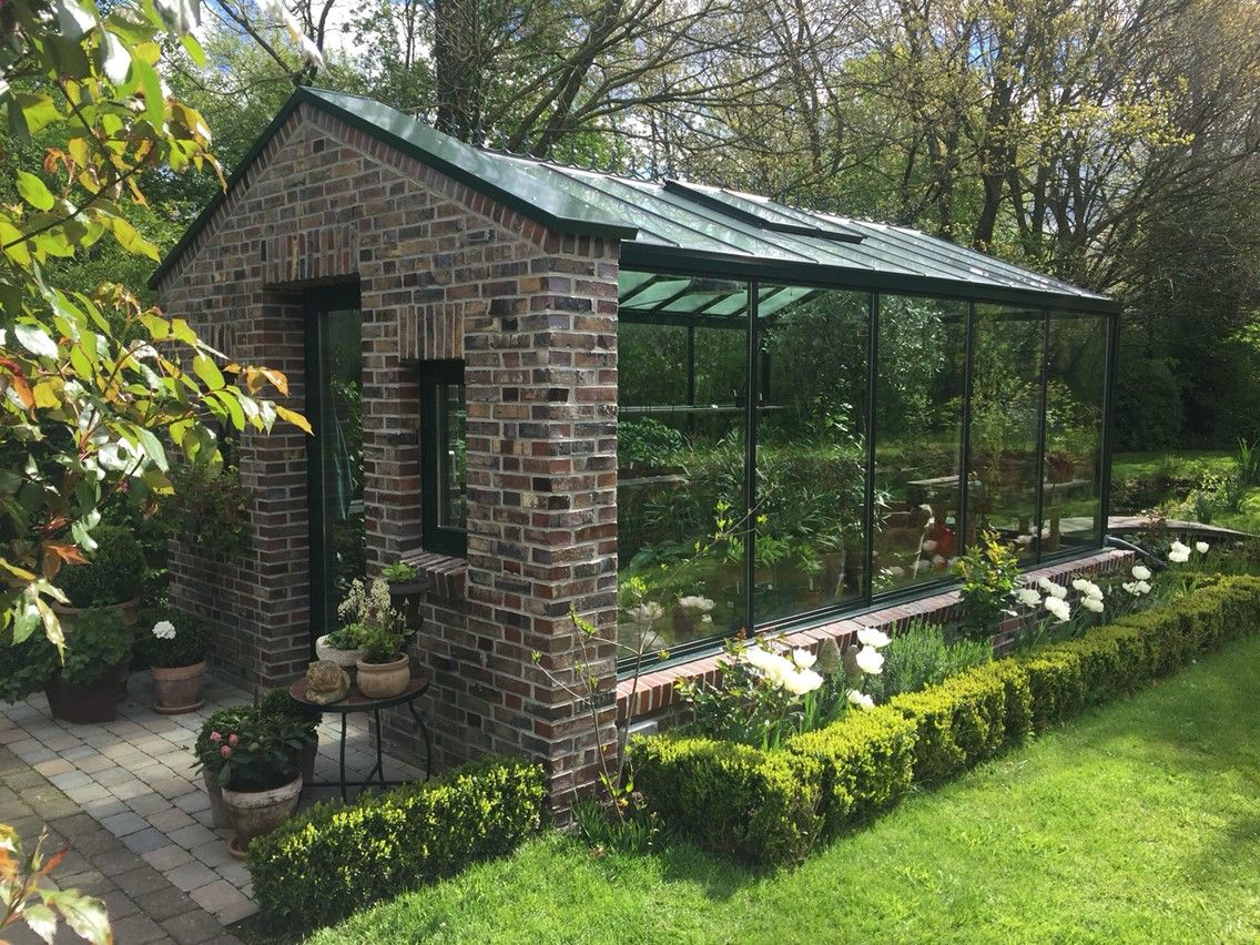 Shed Plans Steel Edwardian With Brick Thermal Mass Now You Can Build Any Shed In A Weekend Even If You Garten Gewachshaus Garten Terrasse Anlehngewachshaus