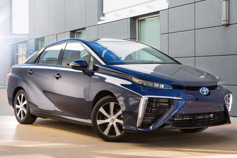 Toyota Mirai - new technical details about the first hydrogen ...