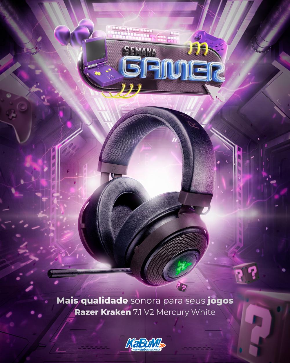 Semana Gamer Kabum On Behance In 2020 Photoshop Cinema 4d Flyer Design