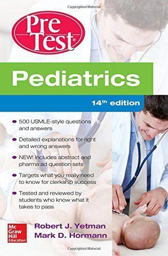 Pretest Pediatrics 14th Edition Pdf