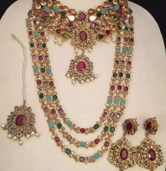 Pin by Anjum Siddiqui🌹 on Ag✏Antique jewellery ✏ Attractive 7 ...