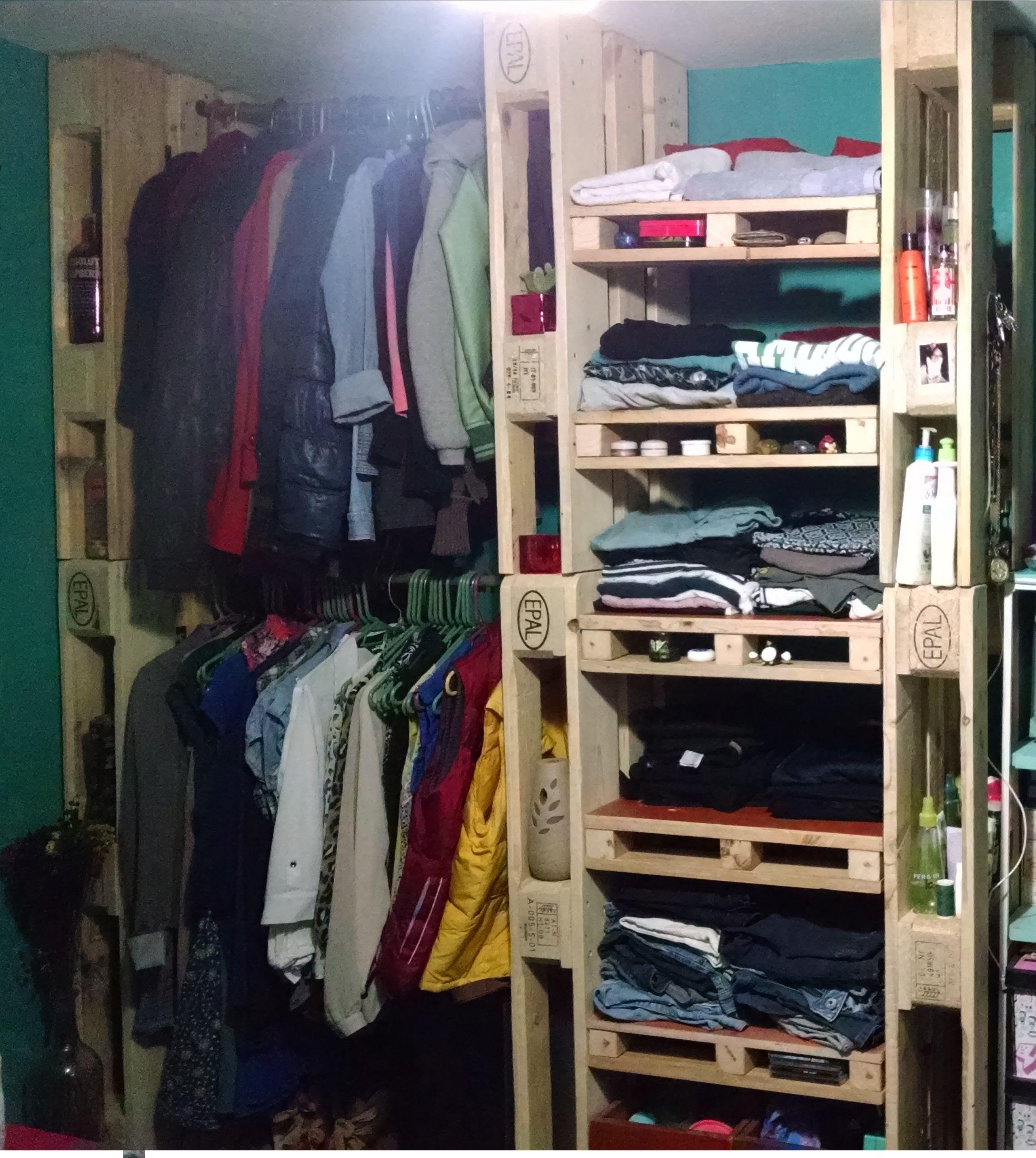 Pallets Closet Pallet closet, Home decor, Pallet