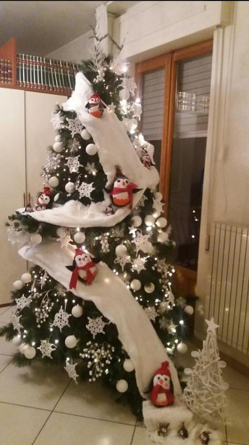 Pin By Gouli On Christmas Trees Inside Christmas Tree Themes Snowman Christmas Decorations Diy Christmas Tree