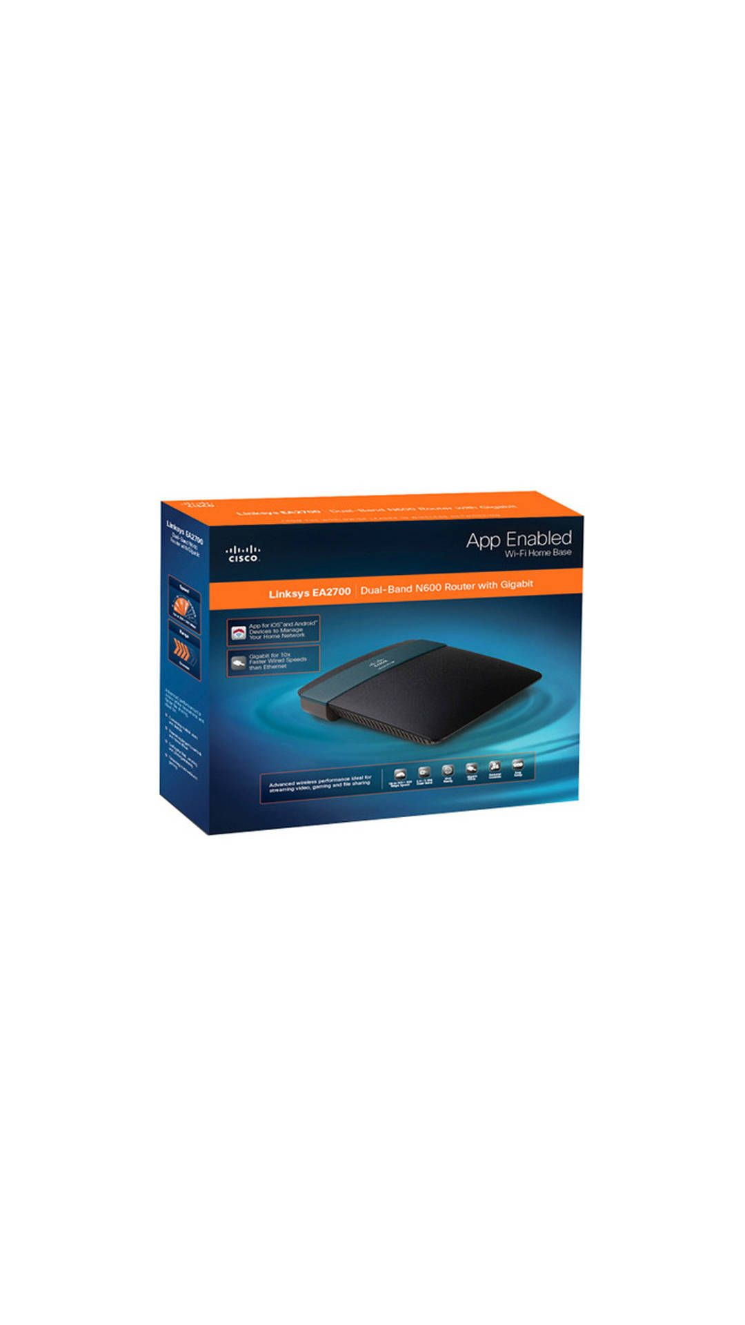 Features of Linksys EA2700 300 Mbps Wireless without Modem