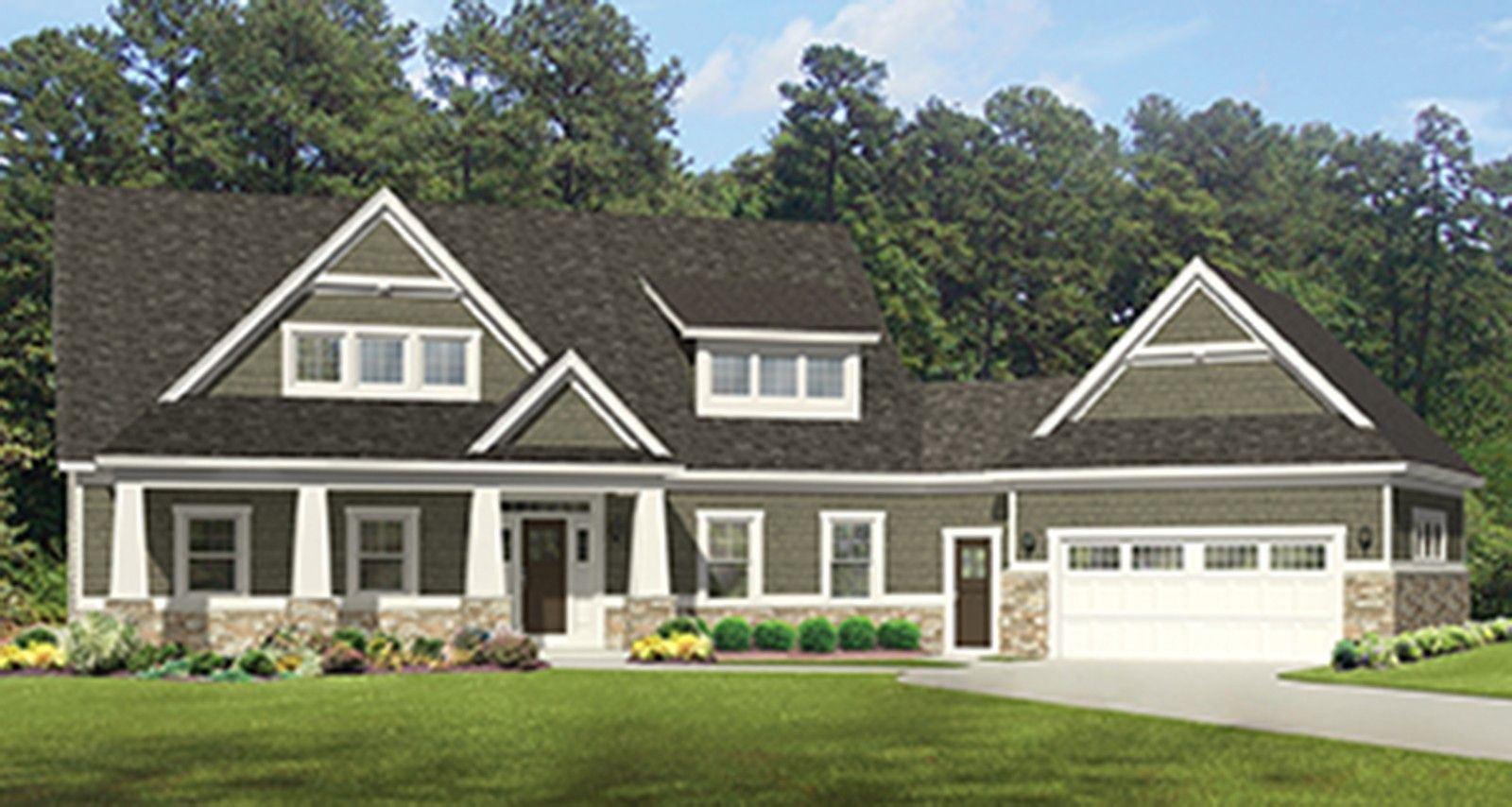 ePlans Craftsman House Plan u2013 Roomy Craftsman