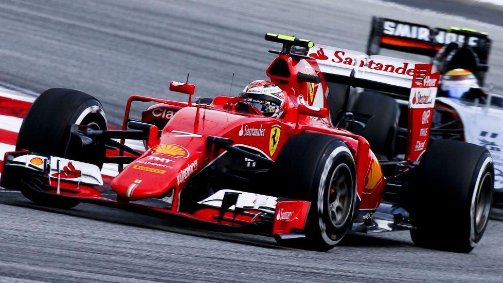 Räikkönen kovassa iskussa