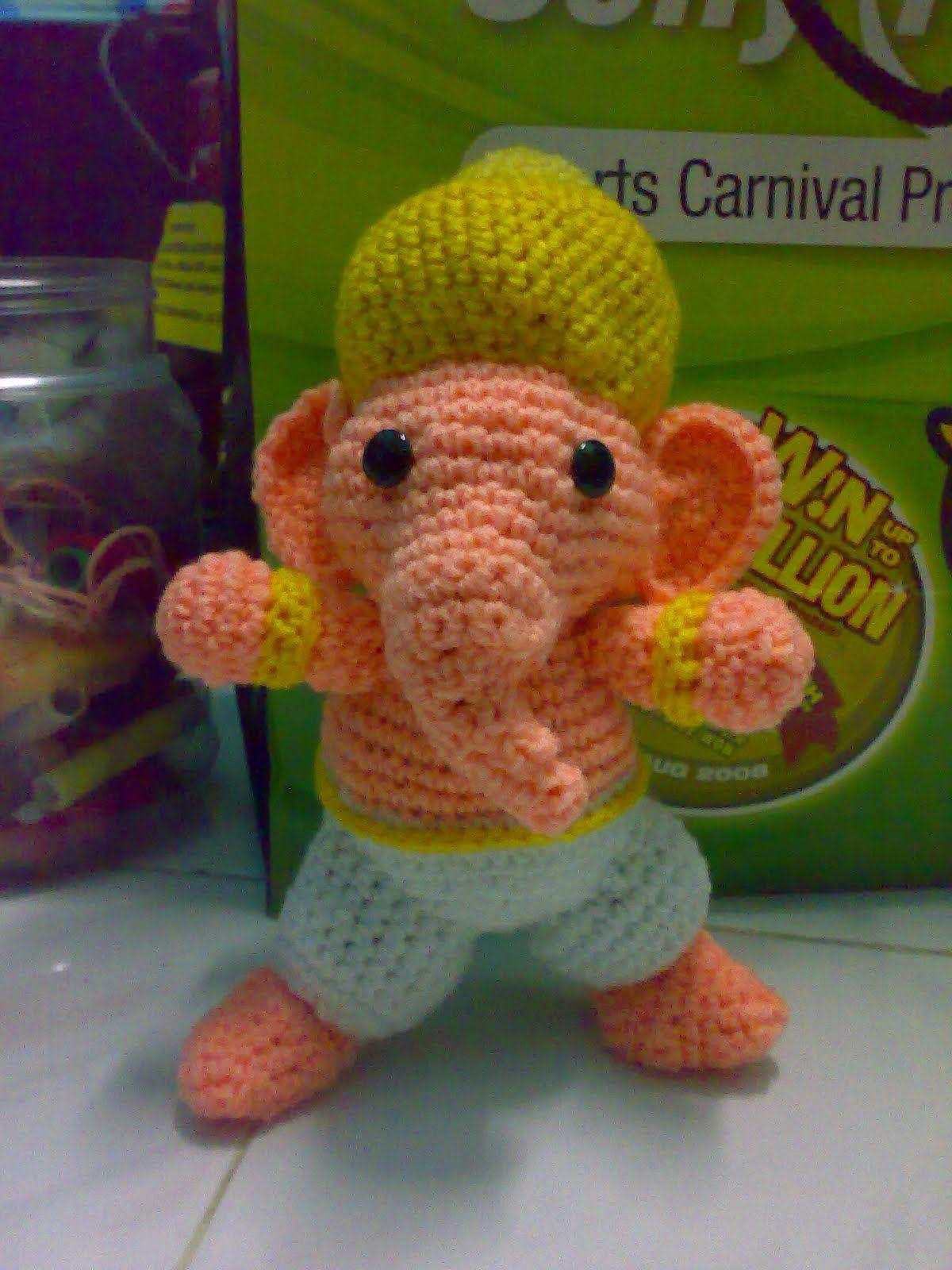 My Skills Guide: Crochet Ganesha Amigurumi doll | Amigurumi | Pinterest