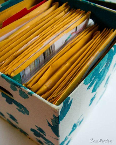 Organizing Your Sewing Patterns | Organisation, Nähzimmer und ...