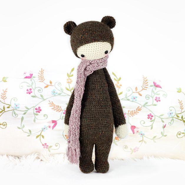 Patrón muñeco amigurumi oso - hecho a mano en DaWanda.es ...